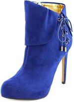 Thalia Sodi Ohlivia Women US 8.5 Blue Bootie