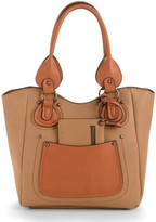 Maddi Prairie bucket bag with swing-purse