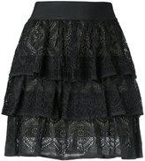 Cecilia Prado knit midi skirt - women - Viscose/Acrylic/Lurex - P