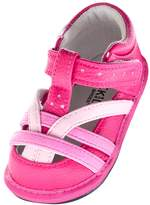 Jack & Lily Scarlett T-Strap Flat - Pink, Size 30-36m
