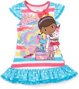 Children's Apparel Network Turquoise 'All Better' Doc McStuffins Top - Girls