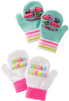 Osh Kosh 2-Pack Feather Mittens