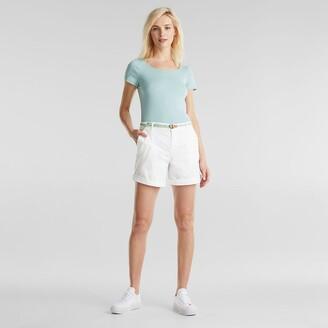 Esprit Cotton Mix Chino Shorts