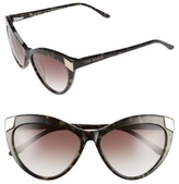Ted Baker Women's 57Mm Cat Eye Sunglasses - Olive Tortoise
