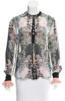 Preen Silk Sheer Top