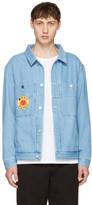 Etudes Blue Denim Guest Smiling Sun Jacket
