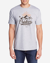 Eddie Bauer Men's Graphic T-Shirt - Mountain Glow