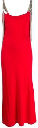 Christopher Kane embellished strap dress
