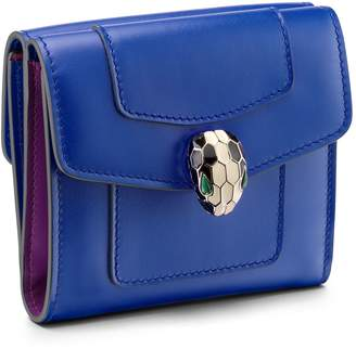 Bvlgari Leather Serpenti Forever Wallet