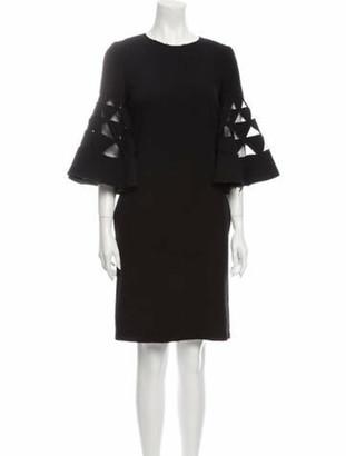 Oscar de la Renta 2018 Knee-Length Dress Wool