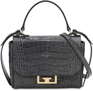 Givenchy MINI EDEN CROC EMBOSSED LEATHER BAG