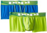 Papi Men's 2-Pack Microfusion Performance Brazilian Trunk