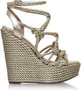 Kg Kurt Geiger Notty rope-detail fabric sandals