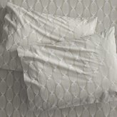 CB2 Set Of 2 Calloway Standard Pillowcases