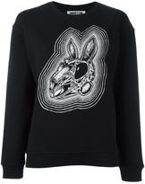 McQ by Alexander McQueen bunny print sweatshirt