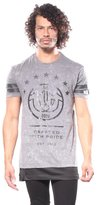 True Religion Mesh Inset Graphic T-shirts L Men