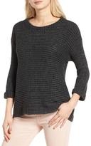 Cotton Emporium Women's Texture Knit Pullover