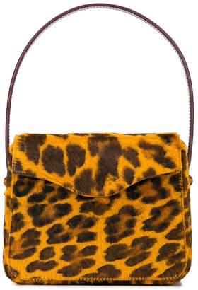 Edie Parker Hot leopard-print box bag