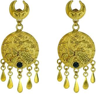 Annabelle Lucilla Jewellery Ocean Medallion Tassel Chandeliers