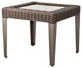 Threshold Belvedere Wicker Patio Accent Table