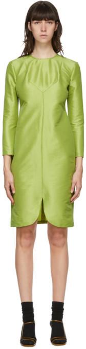 Maryam Nassir Zadeh Green Charlie Mid-Length Dress