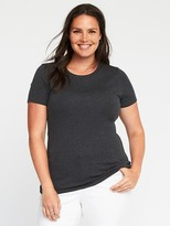 Old Navy Plus-Size Semi-Fitted Crew-Neck Tee