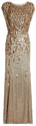 Jenny Packham Sequin Tupelo Gown