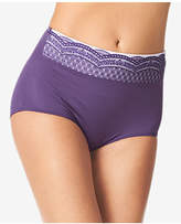 Warner's No Pinching No Problems Lace-Waist Brief RS7401P