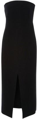 Protagonist Black Wool Dress for Women