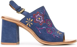 See by Chloe embroidered sandals
