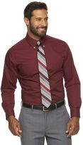 Croft & Barrow Men's Classic-Fit Striped Easy-Care Button-Down Collar Dress Shirt