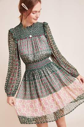 Anthropologie Rhiannon Floral Midi Dress