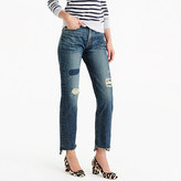 J.Crew Point Sur shoreditch straight jean with stepped hem