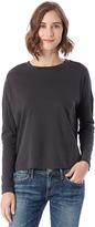 Alternative Brushed & Garment Dyed Long Sleeve T-Shirt