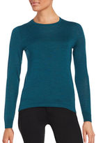 Lord & Taylor Petite Crewneck Merino Wool Sweater