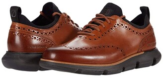 Cole Haan 4.Zerogrand Oxford (British Tan/Sulphur) Men's Shoes