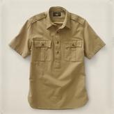 RRL Desert Military Popover Shirt
