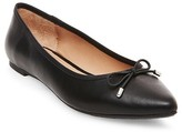 Women's Noele Pointed Toe Ballet Flats - Merona