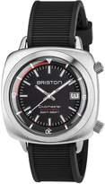 Briston Clubmaster Diver Automatic Watch, Black