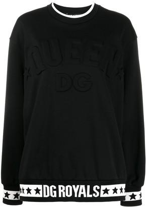 Dolce & Gabbana Logo Queen Sweatshirt