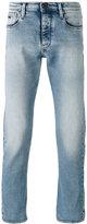 Emporio Armani straight leg faded jeans - men - Cotton/Spandex/Elastane - 32