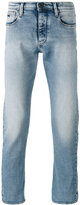 Emporio Armani straight leg faded jeans - men - Cotton/Spandex/Elastane - 33