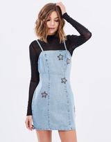 MinkPink Cosmos Crystal Patch Dress