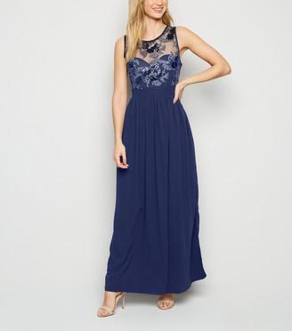 New Look Mela Sequin Sleeveless Maxi Dress