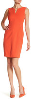 Tahari Jacquard Sheath Dress