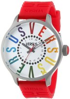 Versus By Versace Women's SGU050013 Versus City Round Stainless Steel Multi-Colored Indexes Date Watch