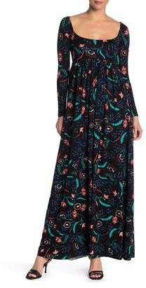 Rachel Pally Isa Floral Knit Maxi Dress