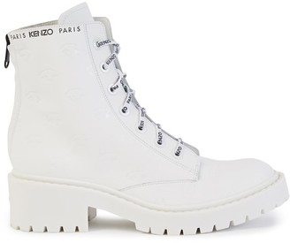 Kenzo Pike lace-up boots