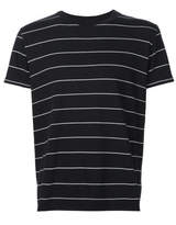 Saint Laurent Classic Striped T-shirt - Black - Size M
