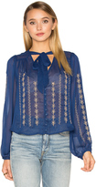 Band of Gypsies Embroidered Blouse